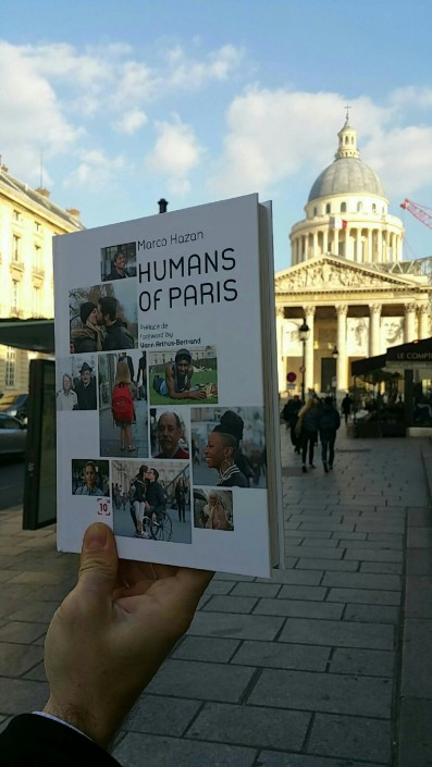 Livre Humans of Paris #HOPBook